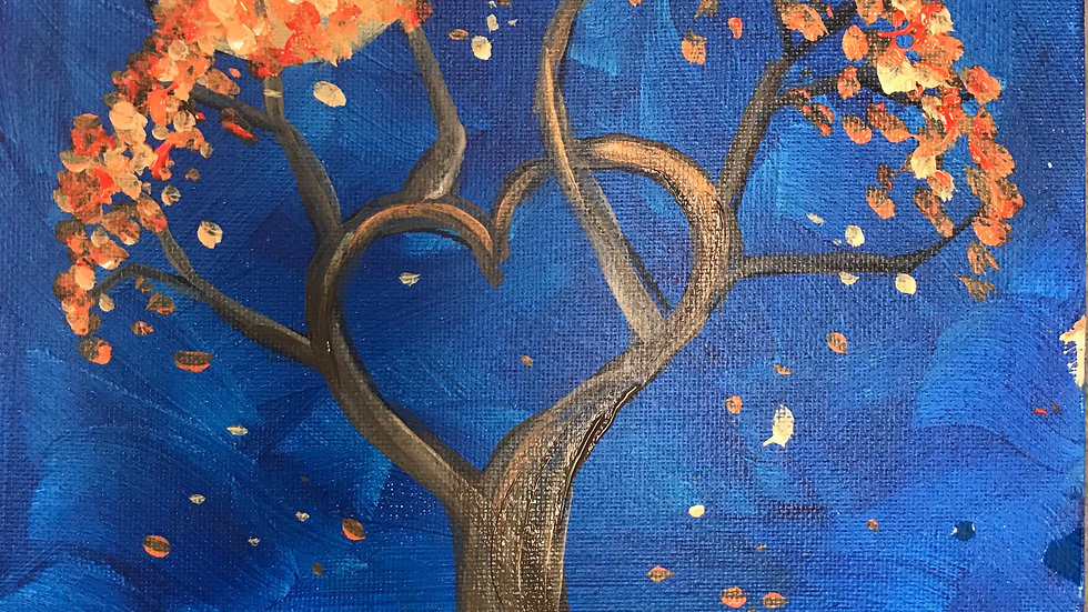 "Love Tree Paint Kit (11x14"")"