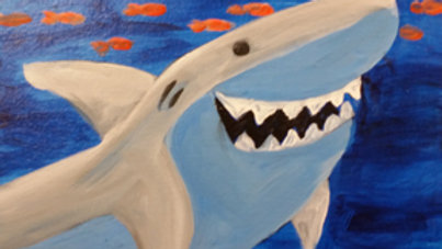 "Shark Paint Kit (11x14"")"