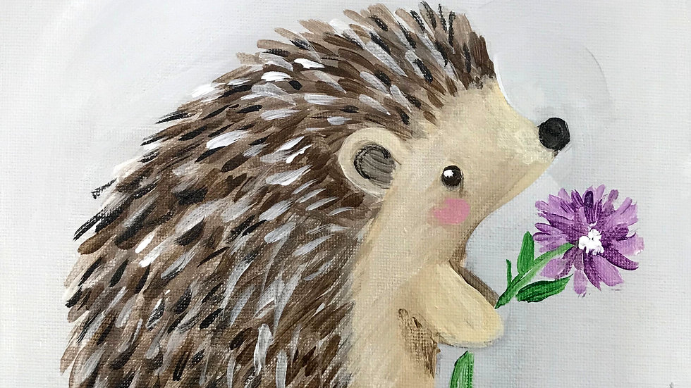 "Hedgehog Paint Kit (16x20"")"