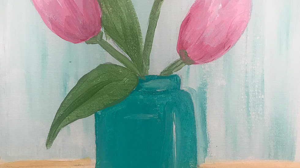 "Tulips Paint Kit (16x20"")"