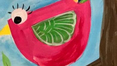 """Bird Parent Paint Kit (11x14"""")"""
