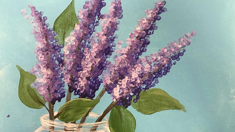 "Lilac Paint Kit (11x14"")"