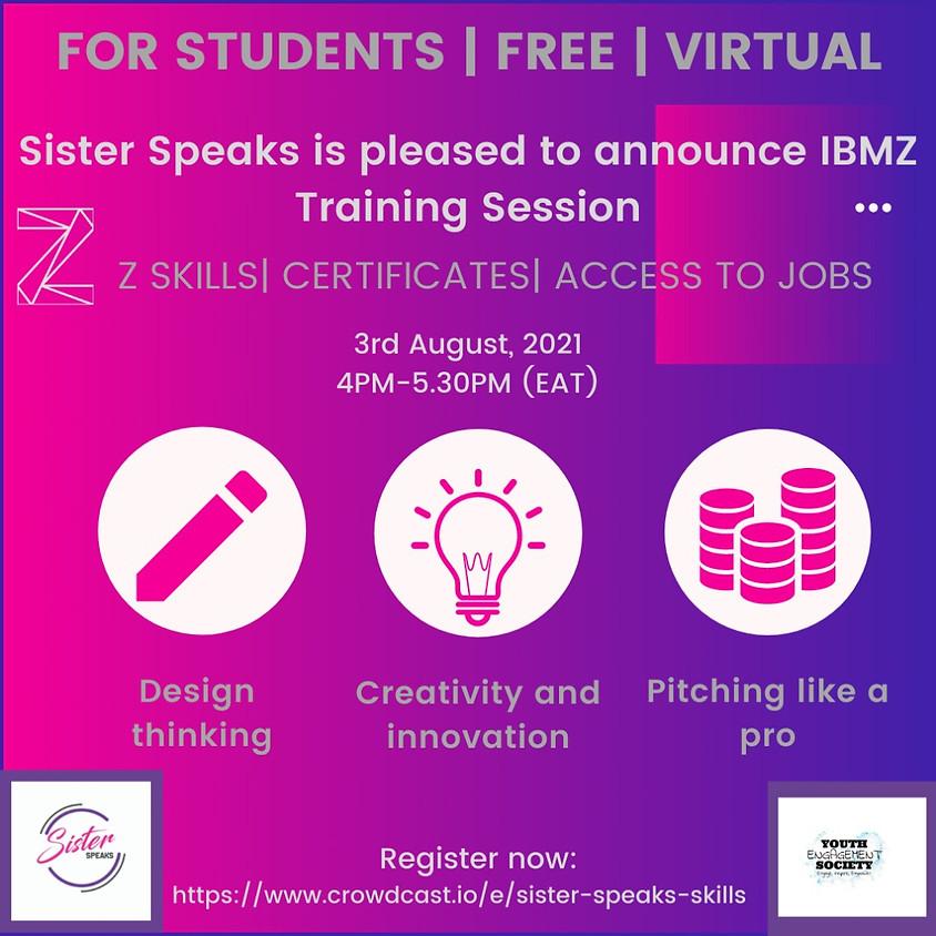 SISTERSPEAKS & IBM Z: Virtual Skills Event