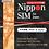 Thumbnail: Nippon SIM for Japan 30days 60GB 4G/LTE Data SIM (no voice/SMS) Docomo Full MVNO  Network