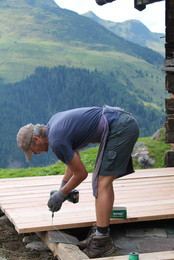 Hüttenrenovierung Michael Walser