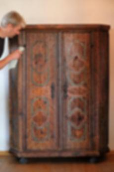 Restaurierung Walser Bauernmöbel