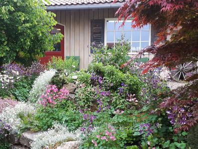 Hüttenflair Garten Werkstatt Walser