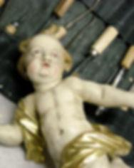 Restaurierung Walser Barockengel