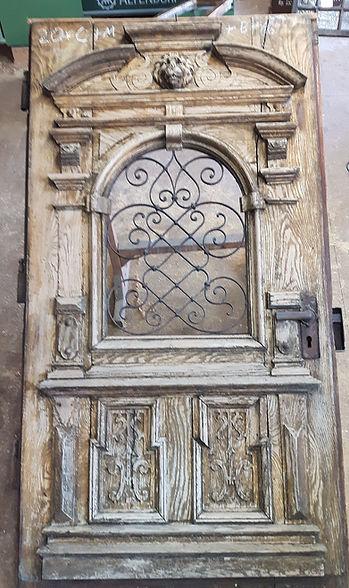 Restaurierung Walser historische Haustür