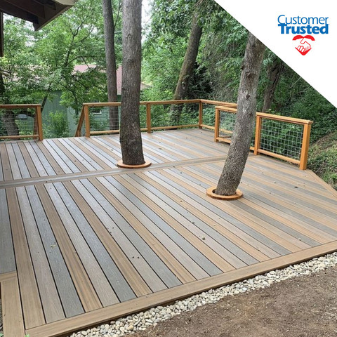 AMERICA'S CUSTOMER TRUSTED OUTDOOR HOUSEHOLD DECKING BRAND
