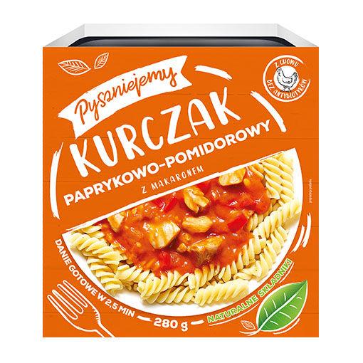 Pyszniejmy_kurczak paprykowo pomidorowy.