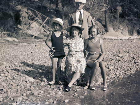 Spencer Family of Brentwood Bay: A Story Captured in Forgotten Photo Negatives