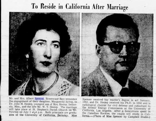 """Headline: """"To Reside in California After Marriage""""."""