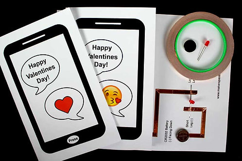 STEM Kit - Valentine Paper Circuit