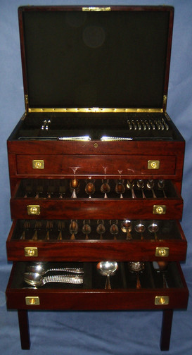 Fitted Silverware Chest