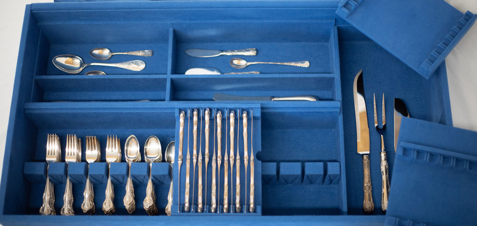 Standard Style Silverware Insert with Removable Trays