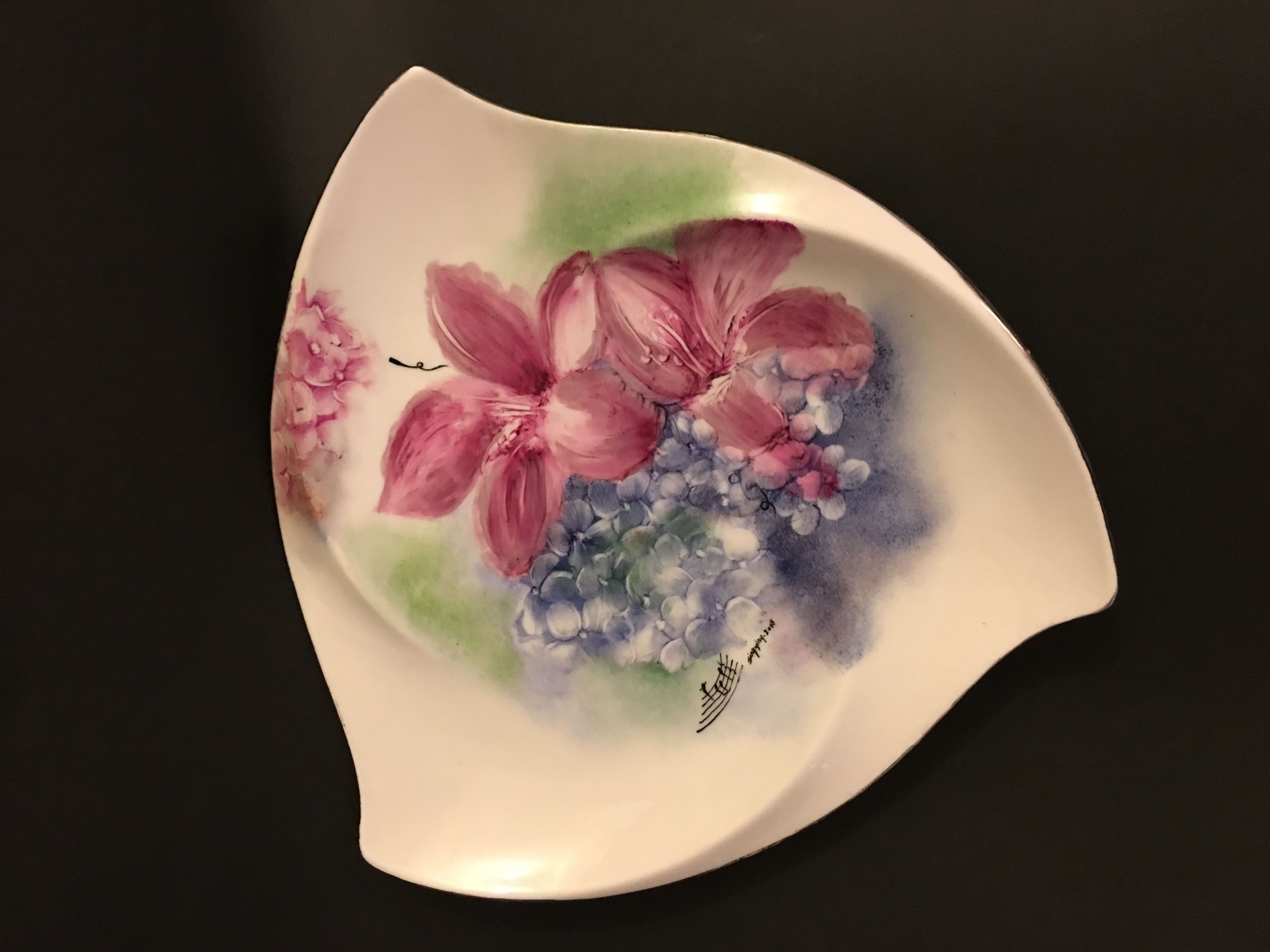 "Vase ""The Symphony of hydrangea 2"""