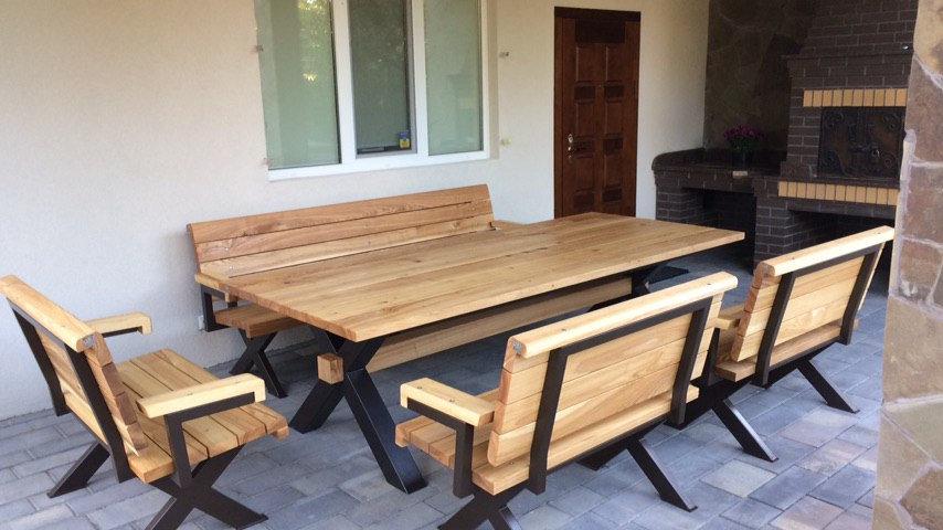 Мебель для летней террасы В-72004