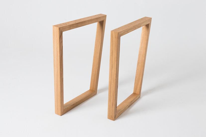 Комплект опор для стола из дуба (2 шт.) O-72008
