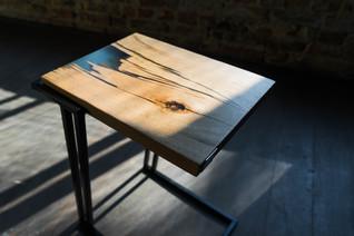 Столик прикроватный лофт
