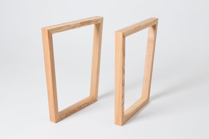 Комплект опор для стола из ясеня O-72004