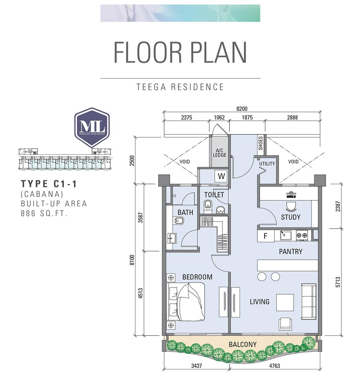 Teega Residences C1-1
