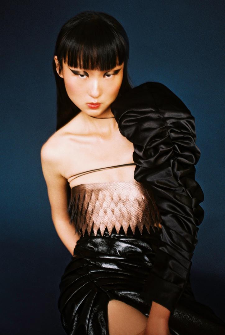 Editorial for Jezga magazine  Photographer: Anna Rosova Clothing: AYLAFAYE STUDIOS Make up: David Gilliers Model: @x.yiiiiiii_liu