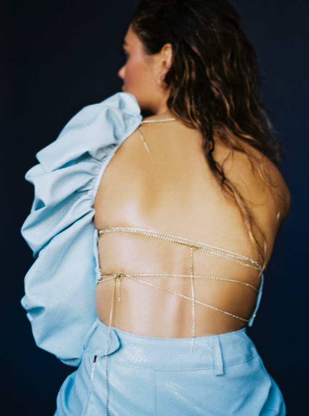 Editorial for Jezga magazine  Photographer: Anna Rosova Clothing: AYLAFAYE STUDIOS Make up: David Gilliers Model: Jasmine Jackson