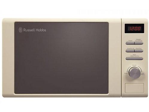 Russell Hobbs 20 Litre Cream Digital Microwave