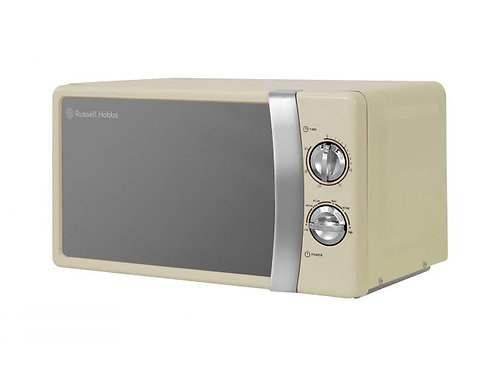 Russell Hobbs 17 Litre Cream Manual Microwave