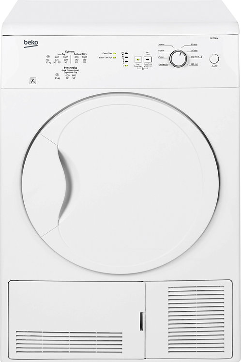 Beko 7kg White Condenser Tumble Dryer