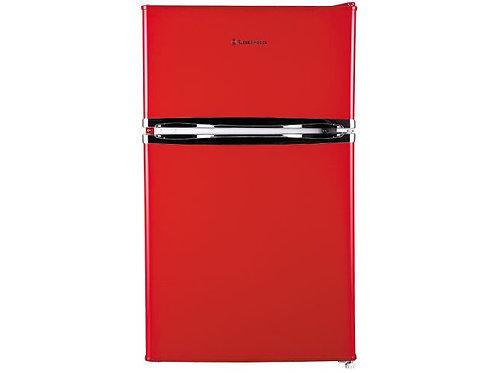 Russell Hobbs 50cm Wide Under Counter Red Fridge Freezer