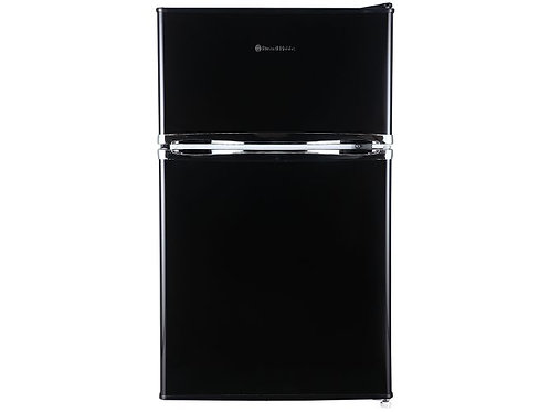 Russell Hobbs 50cm Wide Under Counter Black Fridge Freezer