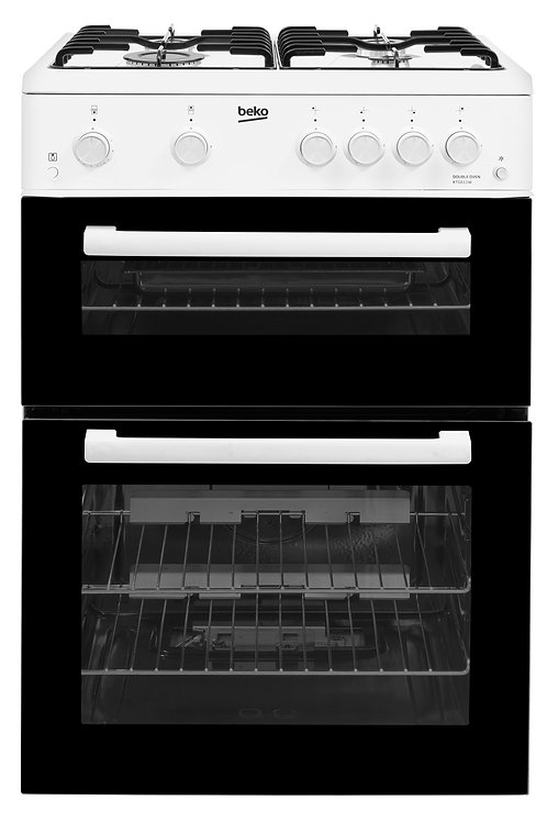 Beko 60cm White Gas Cooker