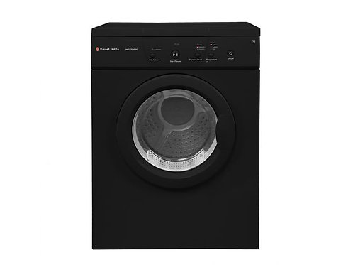 Russell Hobbs Black 7kg Vented Tumble Dryer