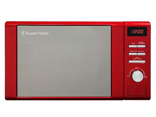 Russell Hobbs 20 Litre Red Digital Microwave