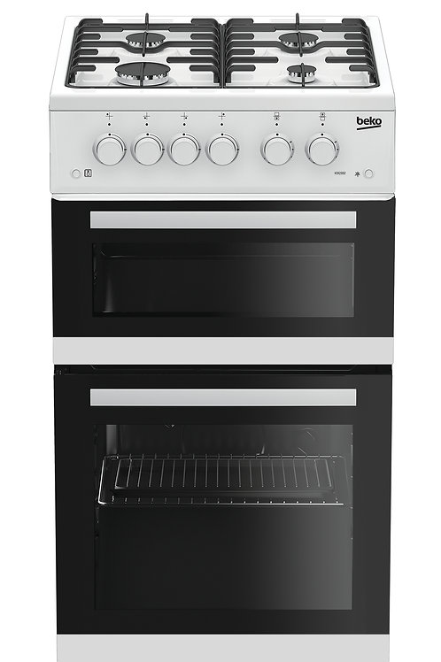 Beko 50cm White Gas Cooker