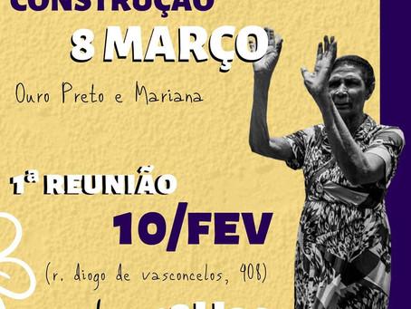 1ª Reunião de Construção - 8M em Ouro Preto e Mariana