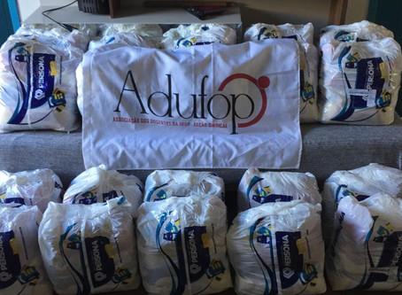Solidariedade de classe: Ações da ADUFOP durante a pandemia