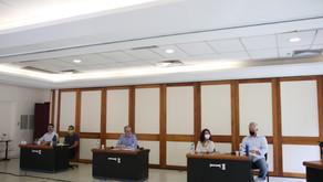 Fotos do Primeiro debate entre as chapas da Pesquisa Paritária - UFOP