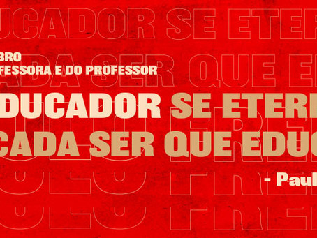 15 de outubro: Dia das professoras e dos professores