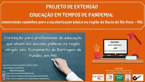 CONVITE | Projeto de Extensão Educação em tempos de pandemia