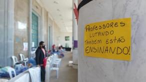 Após 8 dias, educadores do Paraná encerram greve de fome