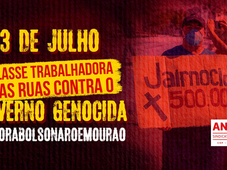 3J: Novas manifestações contra governo Bolsonaro ocorrem no próximo sábado