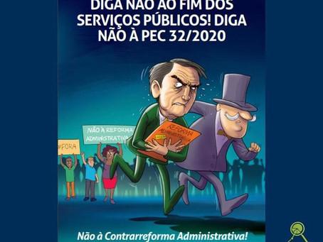 Cartilha popular contra a reforma administrativa