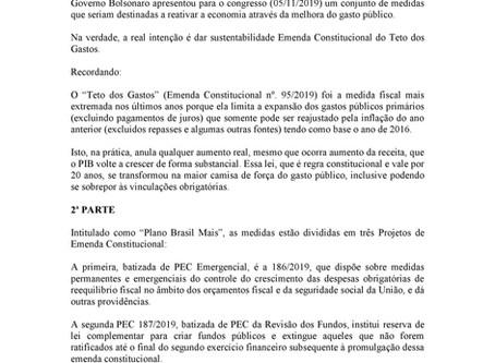 PEC 186/2019 - PEC Emergencial