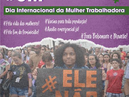 Dia 08 de março, dia internacional das mulheres!
