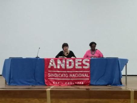 Encontro no ANDES-SN debate a reorganização interna da classe trabalhadora