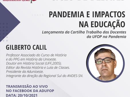 Ciclo de Debates   Pandemia e impactos na educação