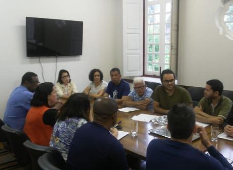 Reunião com Reitoria aborda aplicação do Decreto 9991/2019